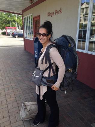 Channeling my early 20s backpacker days