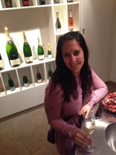 Champagne tasting at Pannier