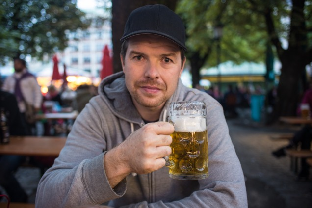 Beers in Munich's city center