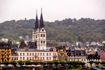 Villages along the Rhine