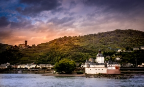 The Rhine river valley