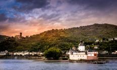 Vineyards along the Rhine
