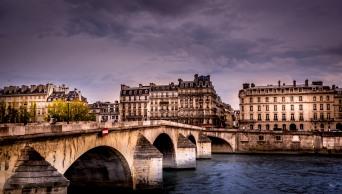 Paul's favorite bridge along the Seine, Pont Neuf