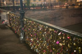 The famous love bridge (we did not add locks)