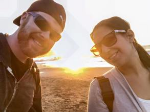 Hanging at Baker Beach for sunset